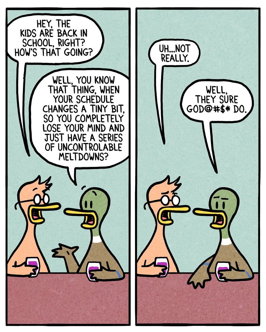 Fowl Language Comic Strip for April 10, 2016