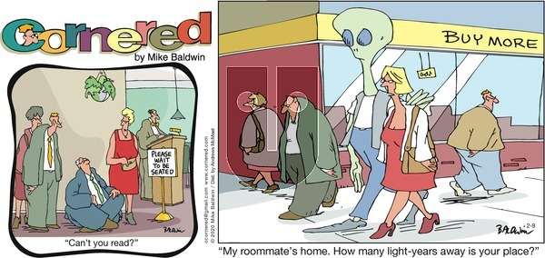 Cornered on Sunday February 9, 2020 Comic Strip