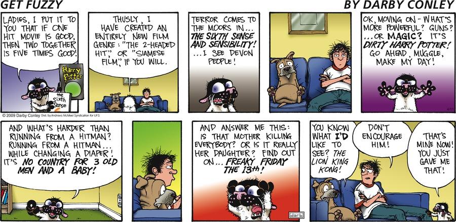 Get Fuzzy Comic Strip for April 11, 2021