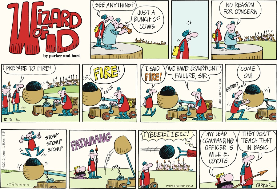 Wizard of Id for Dec 16, 2012 Comic Strip