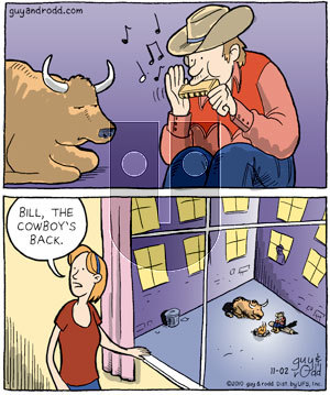 Brevity on Tuesday November 2, 2010 Comic Strip