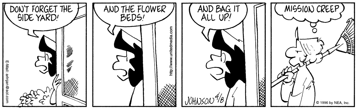 Arlo and Janis Comic Strip for April 08, 1996