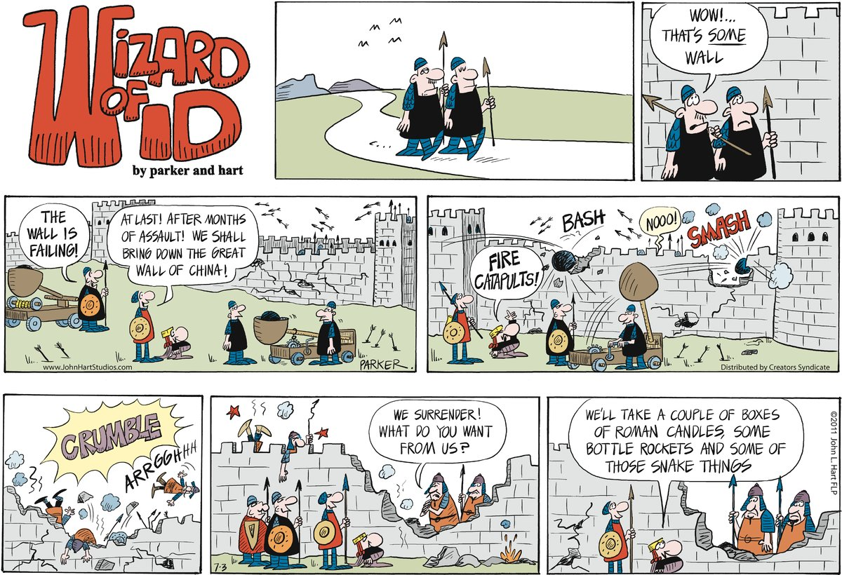 Wizard of Id for Jul 3, 2011 Comic Strip