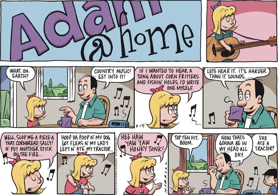Adam@Home for Jul 15, 2018 Comic Strip