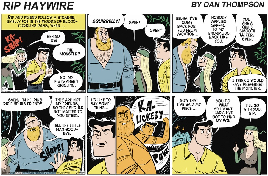 Rip Haywire Comic Strip for September 05, 2021