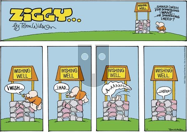 Ziggy on Sunday July 29, 2018 Comic Strip