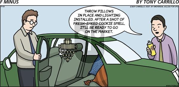 F Minus on Sunday July 13, 2014 Comic Strip