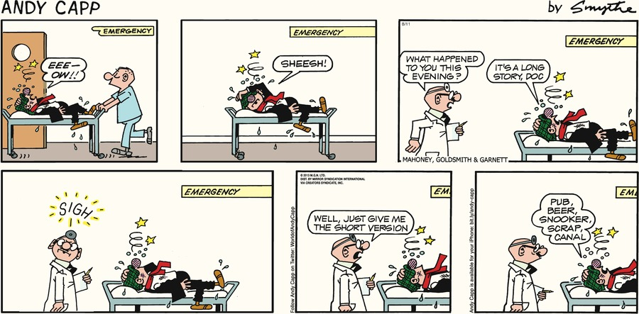 Andy Capp Comic Strip for August 11, 2013