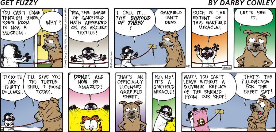 Get Fuzzy Comic Strip for April 22, 2012
