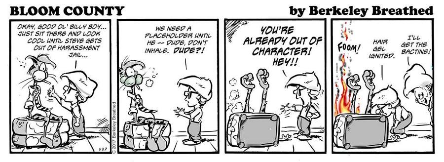 Bloom County 2018 for Dec 6, 2017 Comic Strip