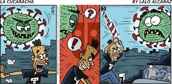 La Cucaracha on Sunday June 20, 2021 Comic Strip