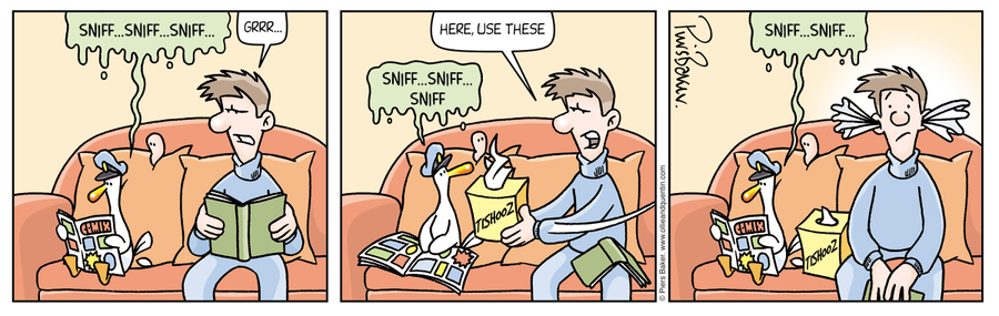 Ollie and Quentin for Oct 26, 2012 Comic Strip