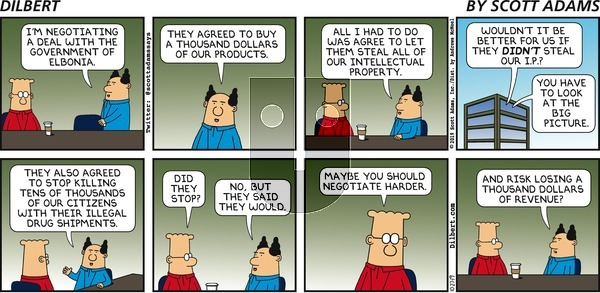 Dilbert on Sunday October 27, 2019 Comic Strip