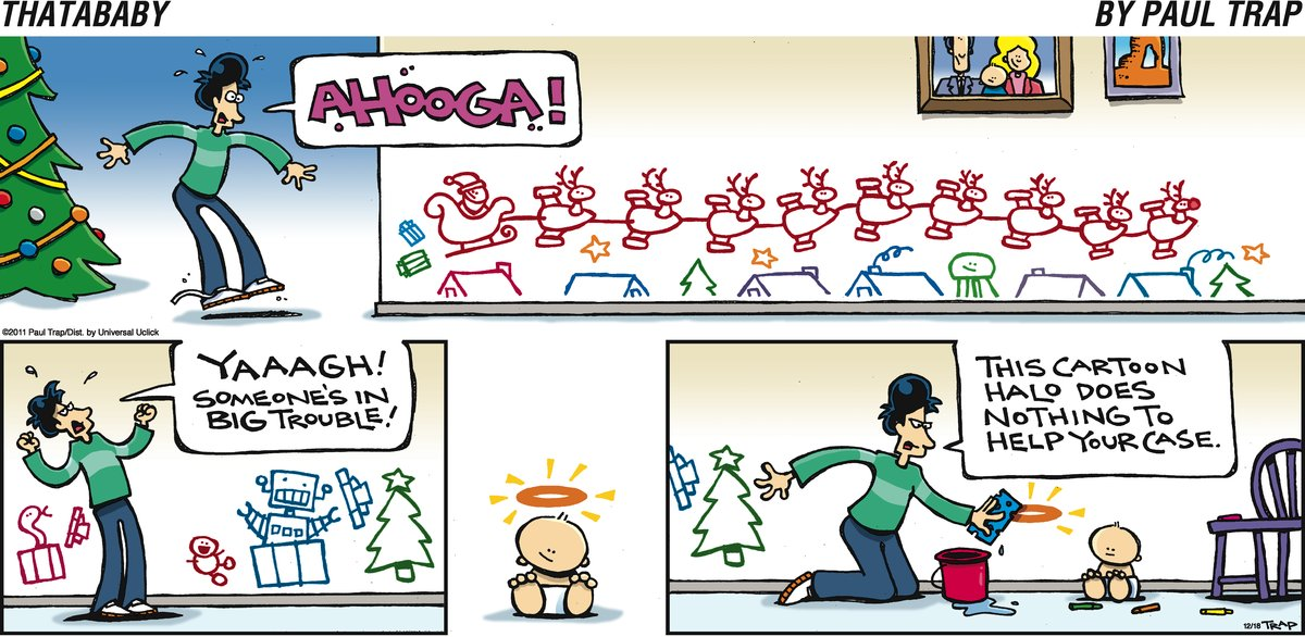 Thatababy for Dec 18, 2011 Comic Strip