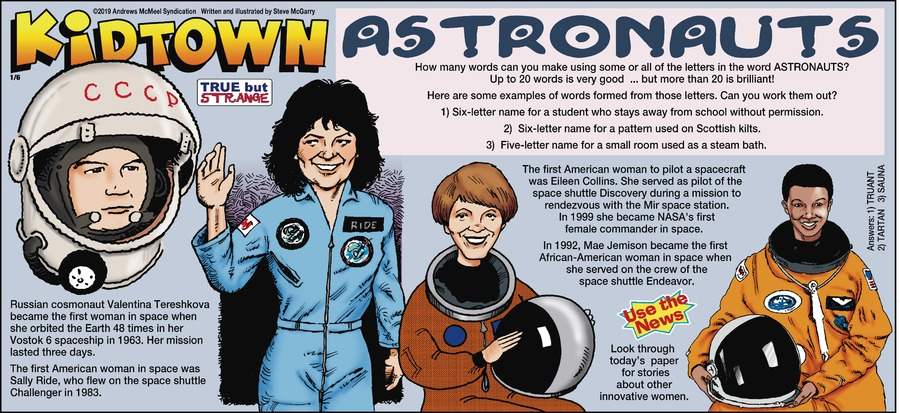 KidTown Comic Strip for January 06, 2019