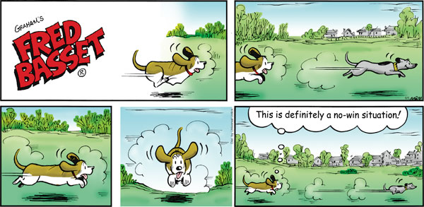 Fred Basset Comic Strip for June 05, 2011