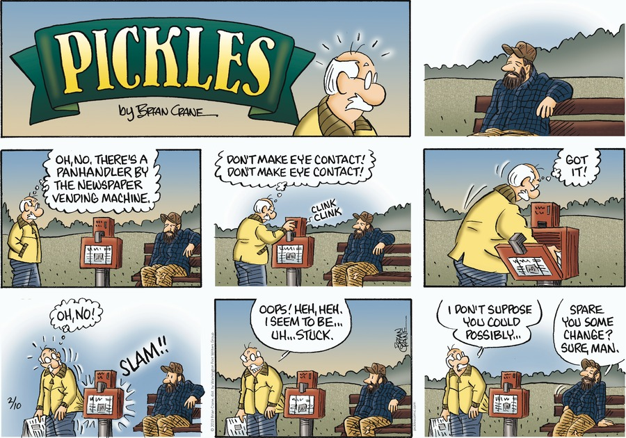 Pickles Comic Strip for February 10, 2019