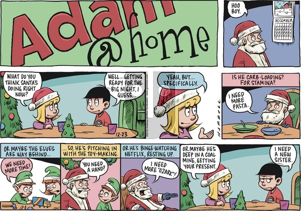 Adam@Home on Sunday December 23, 2018 Comic Strip