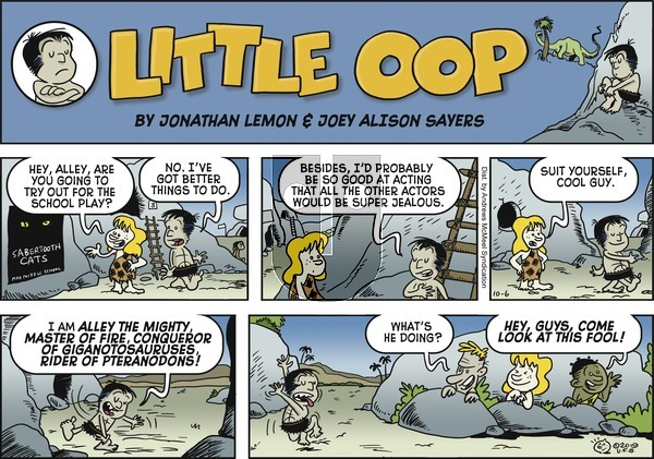 Alley Oop - Sunday October 6, 2019 Comic Strip