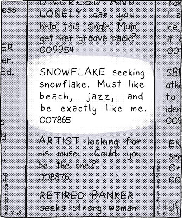 Brevity for Jul 19, 2008 Comic Strip