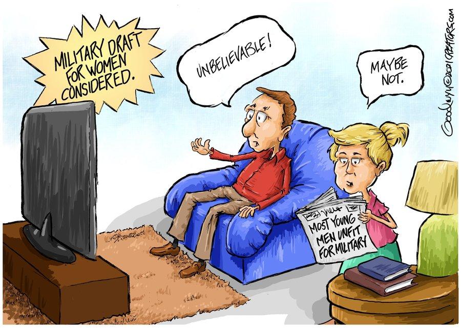 Al Goodwyn Editorial Cartoons Comic Strip for July 28, 2021