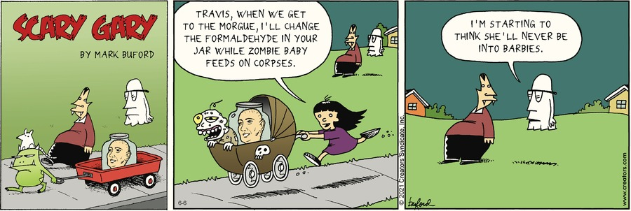 Scary Gary Comic Strip for June 06, 2021