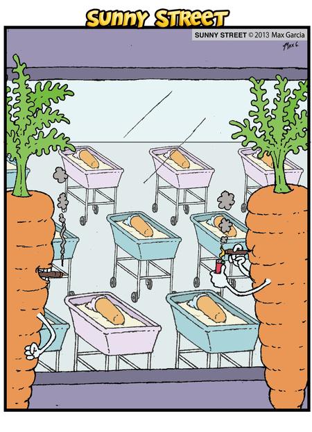 Sunny Street Comic Strip for April 28, 2014