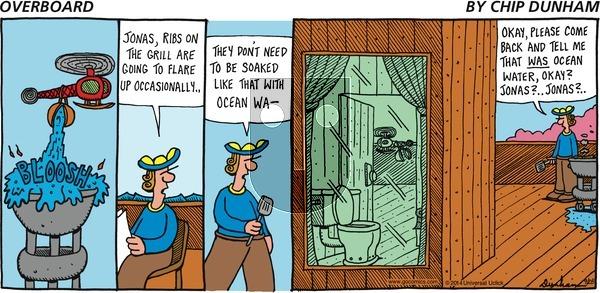Overboard on Sunday September 28, 2014 Comic Strip