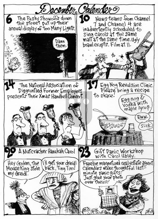 Richard's Poor Almanac on Sunday December 6, 2015 Comic Strip