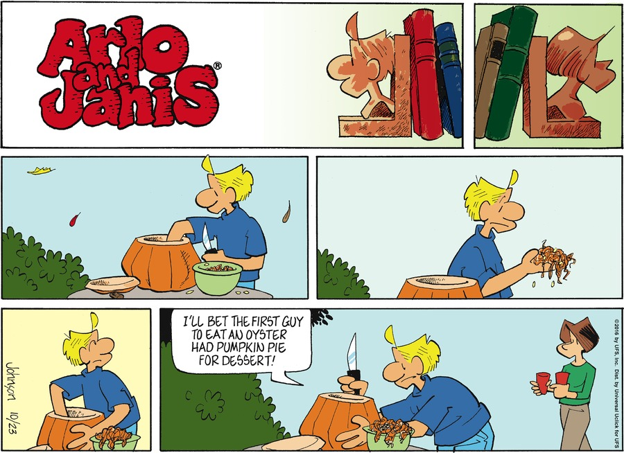 Arlo and Janis Comic Strip for October 23, 2016