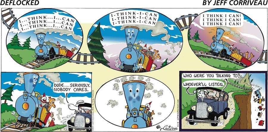 DeFlocked Comic Strip for November 06, 2011
