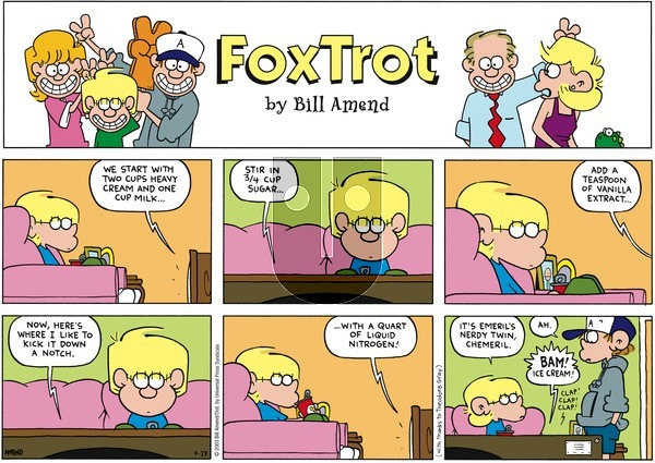 FoxTrot on Sunday July 27, 2003 Comic Strip
