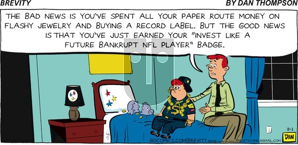 Brevity on Sunday February 1, 2015 Comic Strip