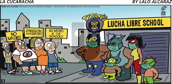 La Cucaracha on Sunday October 17, 2021 Comic Strip