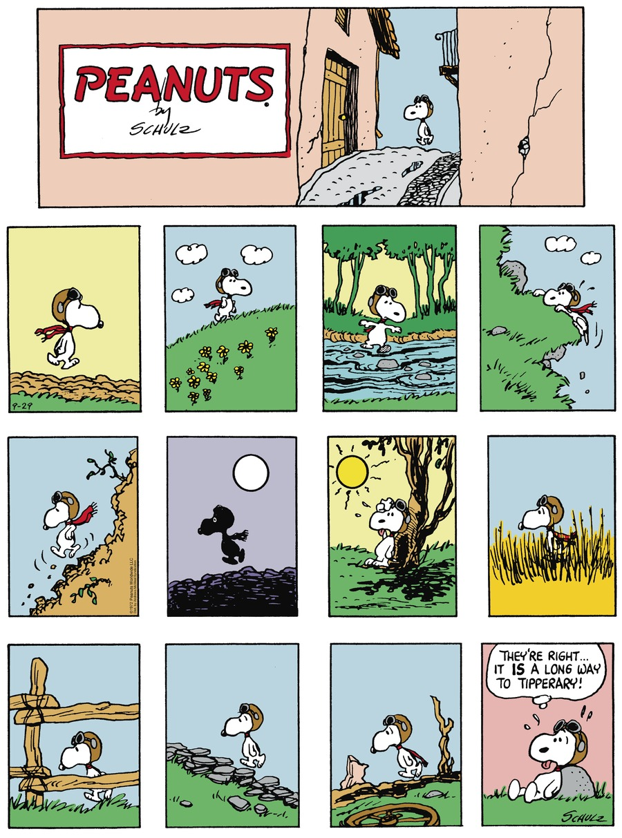 Peanuts by Charles Schulz for September 29, 2019