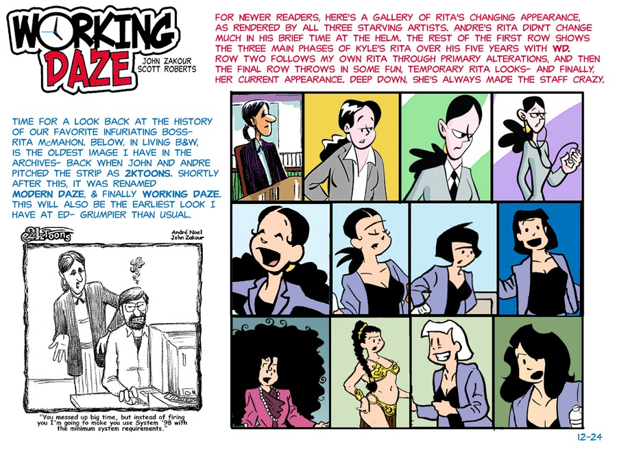 Working Daze Comic Strip for May 24, 2020
