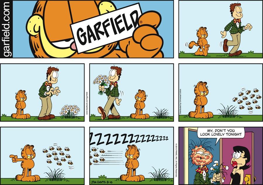 Garfield Comic Strip for August 16, 2015