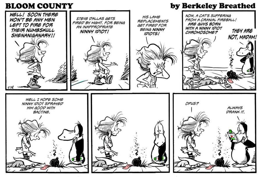 Bloom County 2018 for Dec 7, 2017 Comic Strip