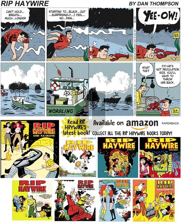 Rip Haywire on Sunday January 13, 2019 Comic Strip