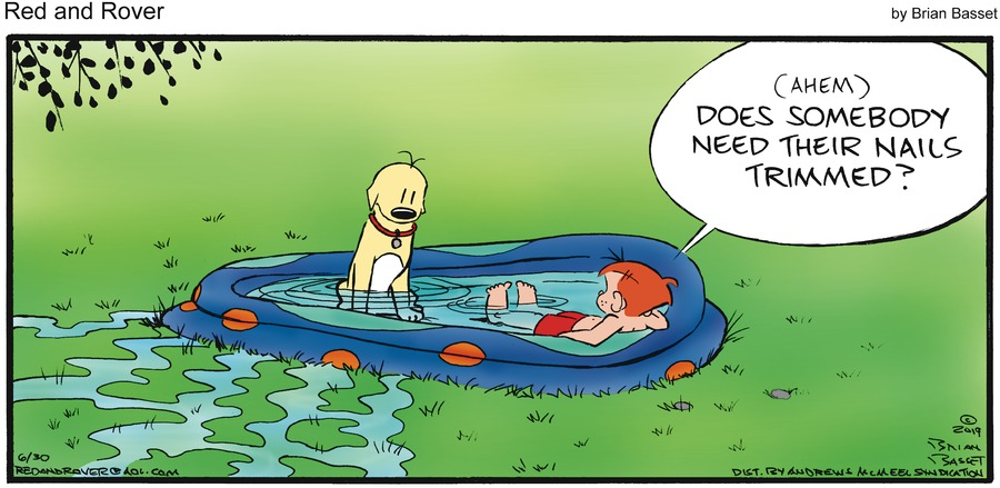 Red and Rover Comic Strip for June 30, 2019