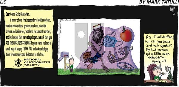Lio - Sunday June 7, 2020 Comic Strip