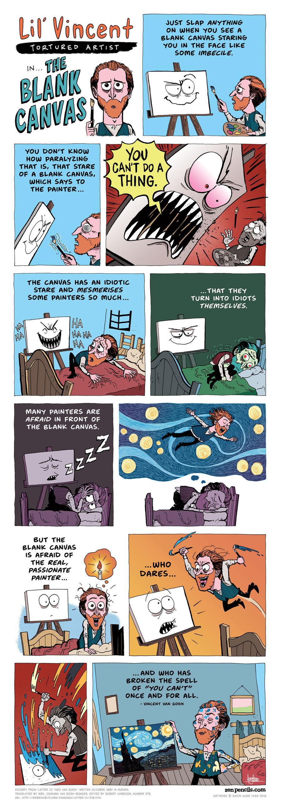Zen Pencils Comic Strip for February 25, 2019