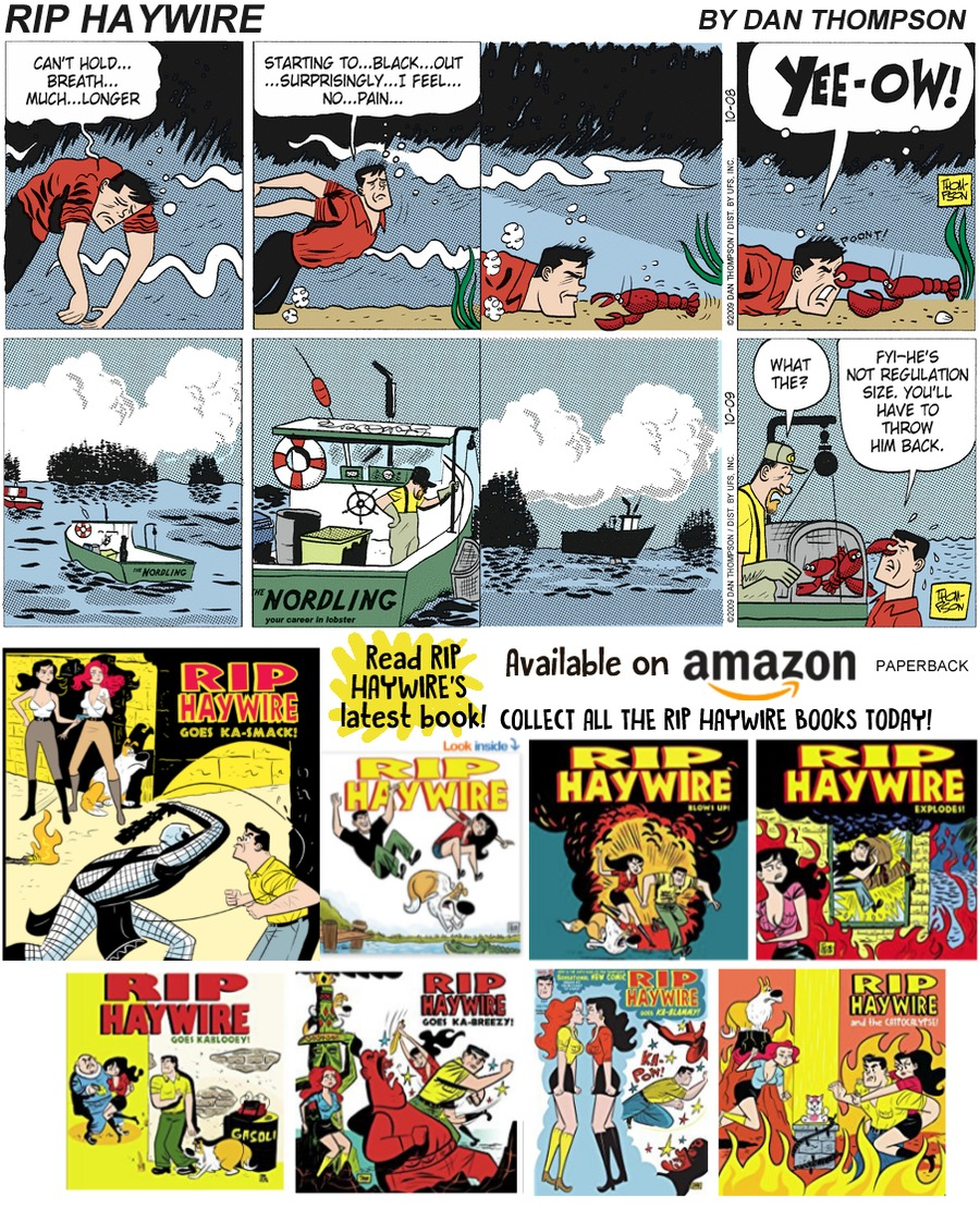 Rip Haywire Comic Strip for January 13, 2019