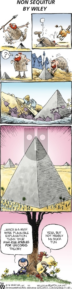Non Sequitur on Sunday May 3, 2020 Comic Strip