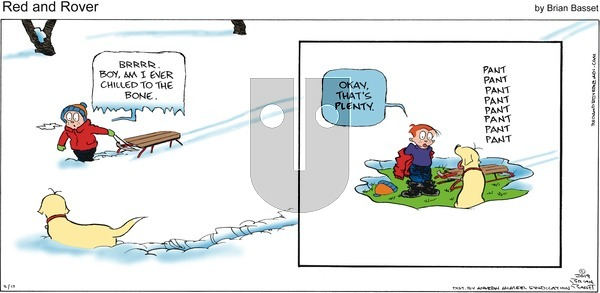 Red and Rover - Sunday February 17, 2019 Comic Strip