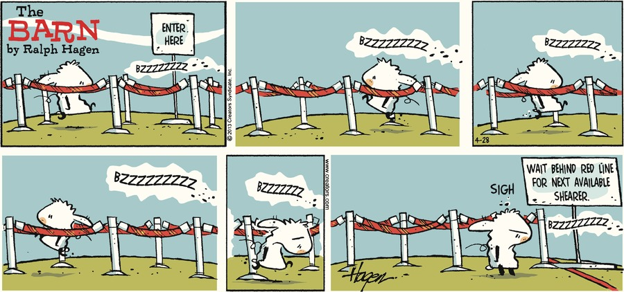 The Barn for Apr 28, 2013 Comic Strip