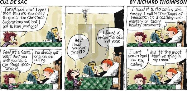Cul de Sac on Sunday December 4, 2011 Comic Strip
