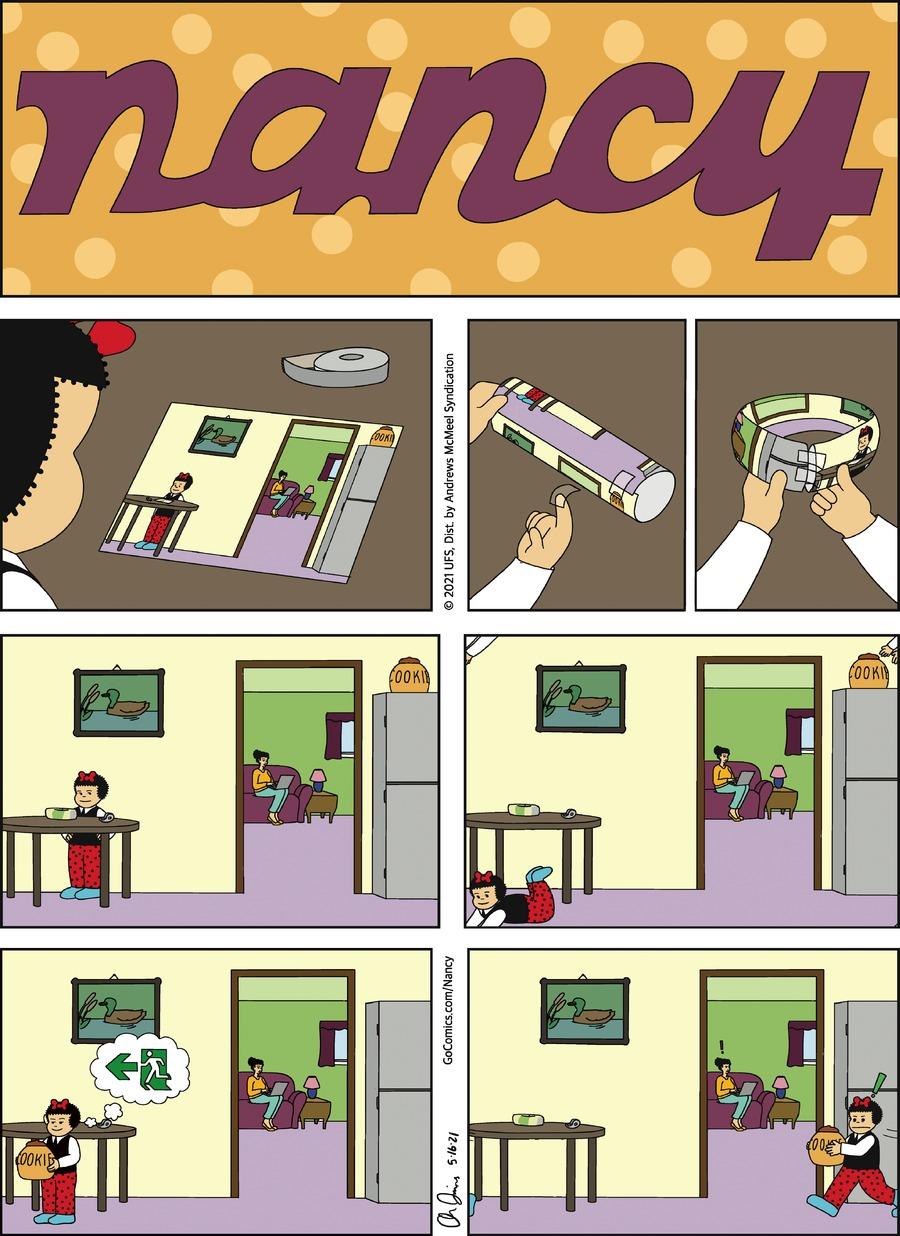 Nancy Comic Strip for May 16, 2021