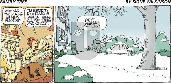 Family Tree on Sunday February 6, 2011 Comic Strip
