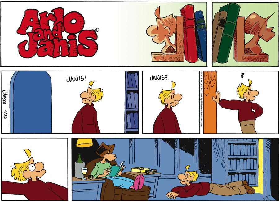 Arlo and Janis Comic Strip for February 26, 2012